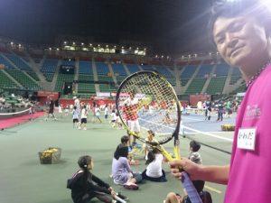 日本テニス事業協会主催  「キッズ&ジュニアテニスカーニバル(有明)」