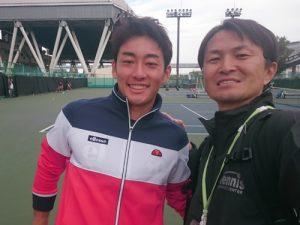 【全日本テニス選手権(有明)】訪問! 日本のトッププレーヤーが集結!