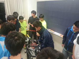 【部活応援】かえつ有明中・高等学校  練習とストリンギングサポート♪