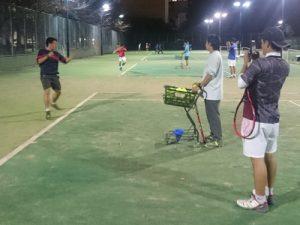 【部活応援】千葉商科大学硬式テニス部  練習サポート