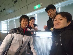 日本リーグ1stステージ(横浜国際プール)2ndステージは1/20~1/22