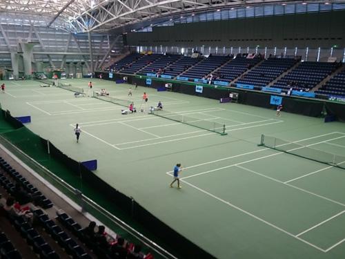 「横浜国際プール テニスコート」の画像検索結果