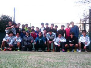 【部活応援】東京大学運動会庭球部 練習サポート