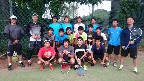 【部活応援】東京学芸大学硬式テニス部 練習サポート♪