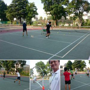 【部活応援】筑波大学附属高等学校テニス部 練習サポート