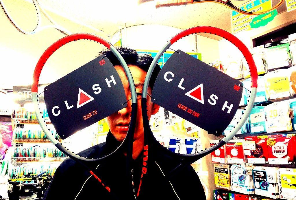 【店頭見本あります!】『Wilson CLASH』シリーズの取り扱い決定!