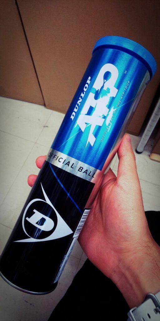 【テニスボール】メタル缶、モチベーションアップやギフトに